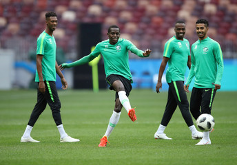 World Cup - Saudi Arabia Training