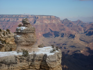 National Park views : Grand Canyon in winter