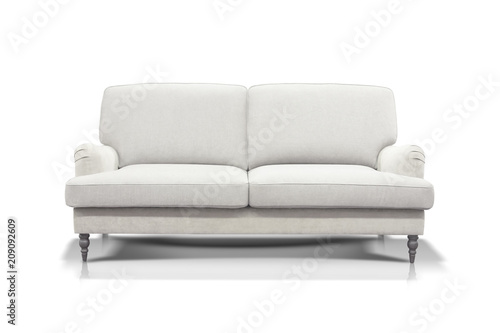 Wondrous White Sofa Isolated On White Background Stock Photo And Gamerscity Chair Design For Home Gamerscityorg