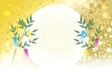 和風背景素材壁紙,七夕飾り,祭り,伝統,短冊,笹の葉,初夏の行事,星屑,天の川,星屑,キラキラ,七月