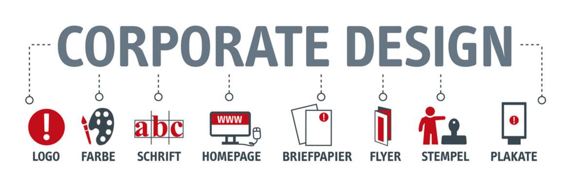 Banner corporate design