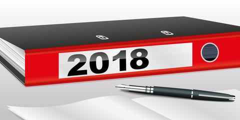 2018 - bilan - entreprise - objectif - classeur - finance - analyse - économique - financier - contrat