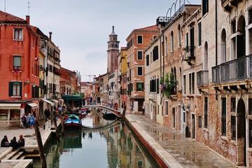 Venedig, Häuser am Kanal