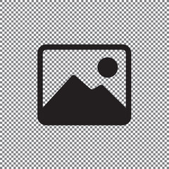 photograph vector icon