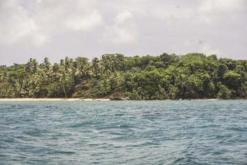 Trunk Bay on the Caribbean island of St John in the US Virgin Islands