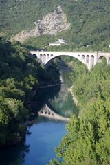 pont de solkan, slovenie
