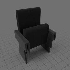 Closed movie chair