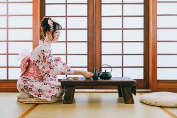 Asian tea ceremony