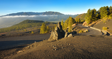 Landscape in the Island of La Palma, Canary Islands, Spain