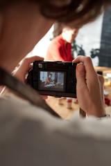 Photo shoot in workshop