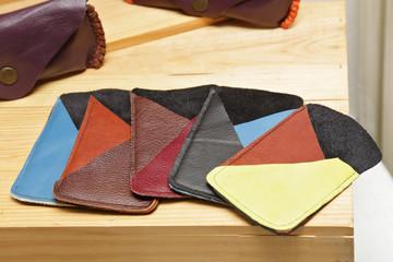 artisanat, housse de smartphone en cuir