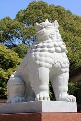 十日恵比寿神社の狛犬(福岡市)、