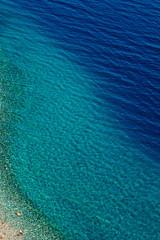 Colorful Lake Water