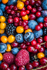 Mixed bowl of Nordic Berries