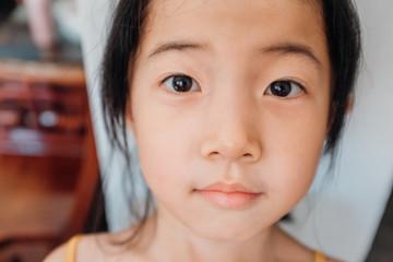 Cute Asian little girl portrait