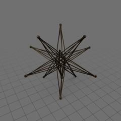 Abstract star statue 2