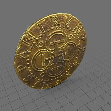 Ancient gold coin 2