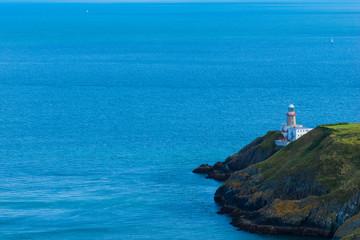 The Baily Lighthouse and Dublin Bay, Ireland