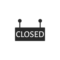 Closed vector icon