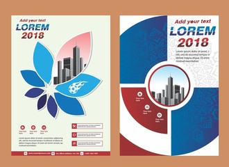 sport cover, brochure,layout design for 2018 event