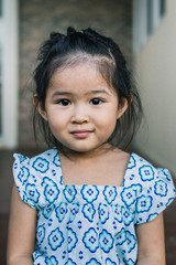 Portrait of Asian children