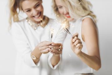 Girlfriends Celebrating