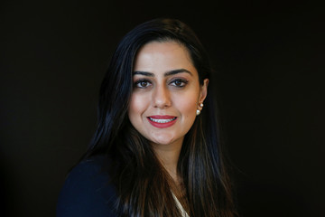 Priya Karani, Director on Equity Derivatives Trading Desk, poses for a portrait in New York