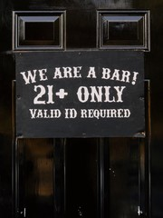WE ARE A BAR! 21+ ONLY