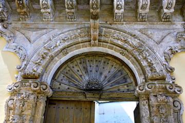 Foto op Textielframe Artistiek mon. characteristic historic buildings nardò salento italy