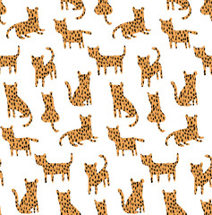 meany cheetah pattern