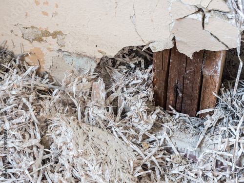 "Wohnung Wand asbest wand in einer wohnung"" stock photo and royalty-free images on"