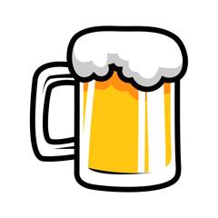 beer mug cartoon