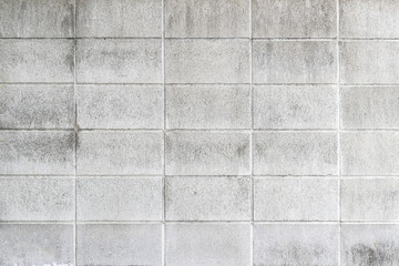 Cement block wall pattern and background