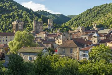France, Auvergne, Blesle, Gerard Klein's village
