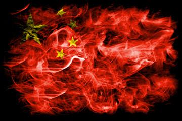 China smoke flag