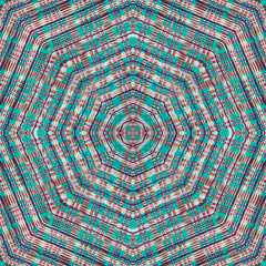 Abstract kaleidoscope or endless pattern.