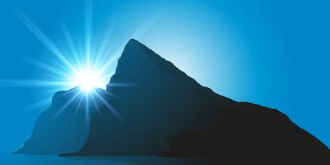 rocher de Gibraltar - Méditerranée - détroit de Gibraltar -  Grande Bretagne - britannique