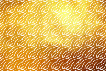 Shiny modern digital golden texture pattern background. Creative dynamic abstract