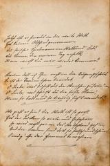 Undefined handwritten text Vintage texture paper
