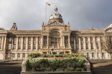 Birmingham Council house in the United Kingdom