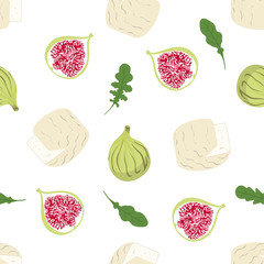 pattern with camembert