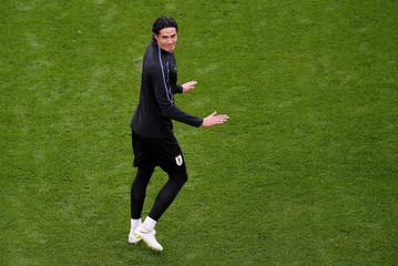 World Cup - Uruguay Training