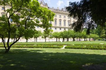 Würzburg-Hofgarten der Residenz
