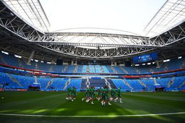 World Cup - Morocco Training