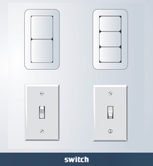 eps Vector image:switch