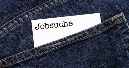 Auf Jobsuche
