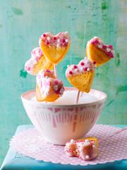 Homemade cake pop