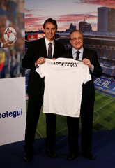 Real Madrid present new coach Julen Lopetegui