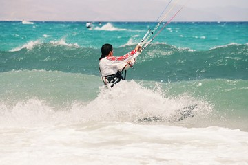 kite surfing Canary Islands