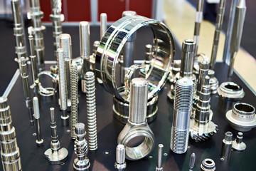 Processed metal parts